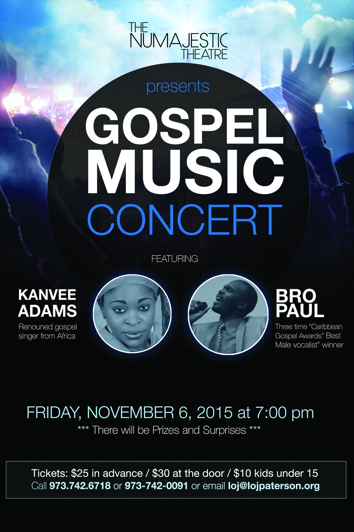 November Gospel Concert