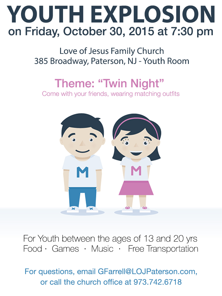 "October Youth Explosion:  ""Twin Night"""